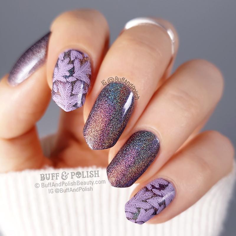 Buff & Polish - A-England Mrs De Winter Wintery Nails