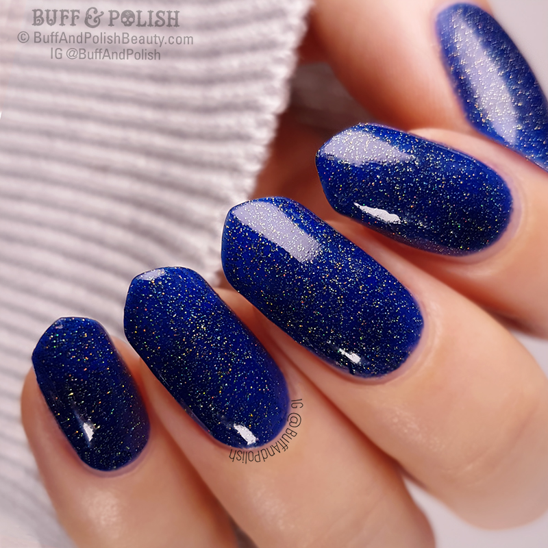 Buff & Polish - Aree Lyons Love polish swatch