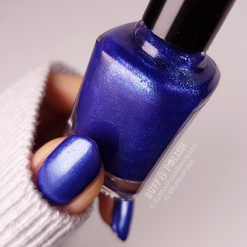 Buff & Polish - Aree Mystique polish swatch