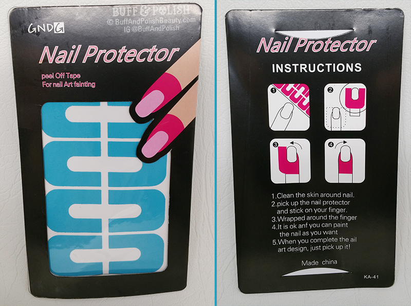 Born Pretty U-Shaped Nail Protector Tape Review – Buff & Polish