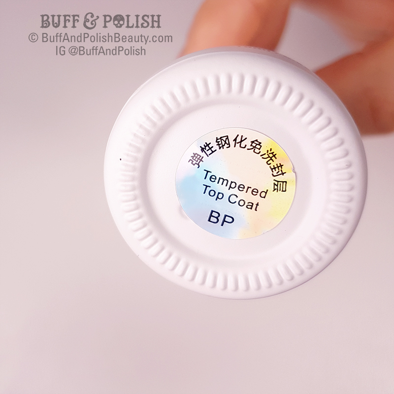 Buff & Polish - No-Wipe Gel Top Coat - Born Pretty Review