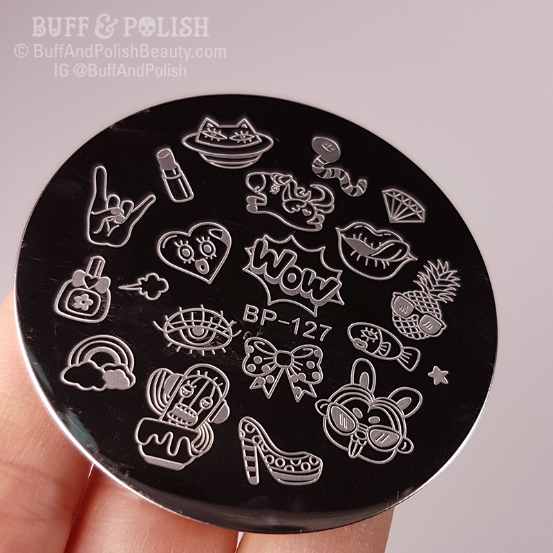 Buff & Polish - BPS Pop Art Plate Review