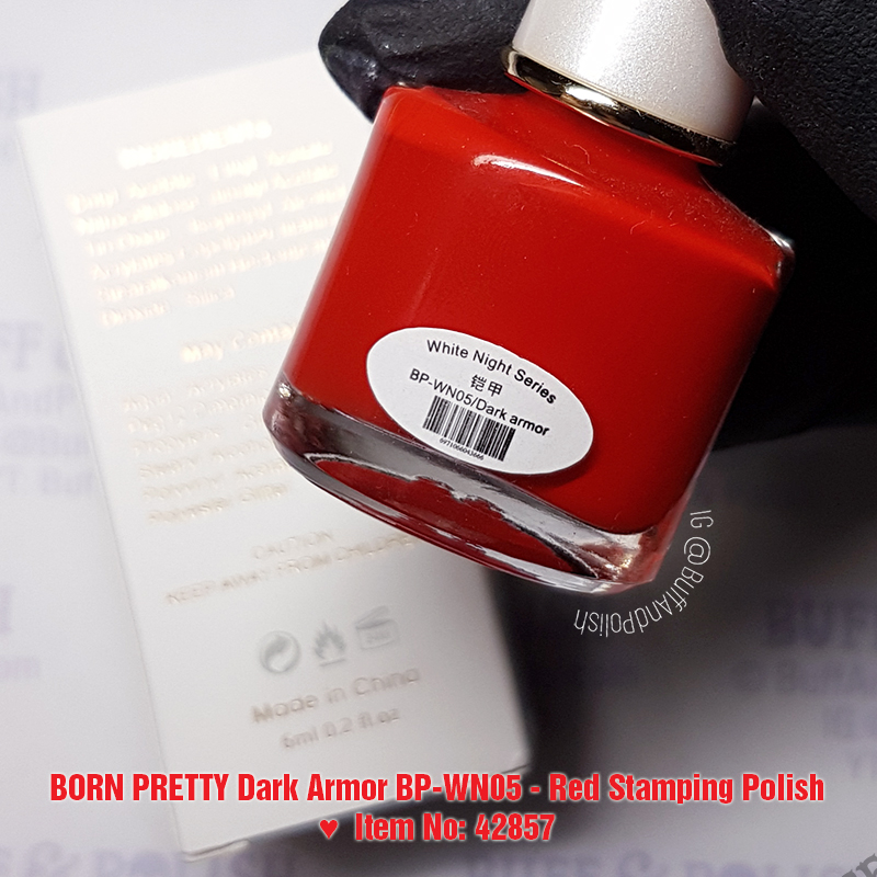 Buff & Polish - Born Pretty Dark Armor Polish