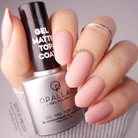 Buff & Polish - Opallac Faux Fur Gel Polish Swatch MATTE