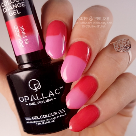 Opallac - Poured In Pink, (Colour Change Thermal)