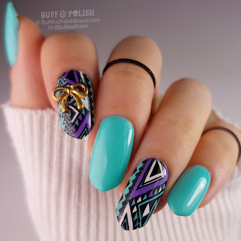 Aztecan Me Forever Aztec Nail Art Decals Buff Polish