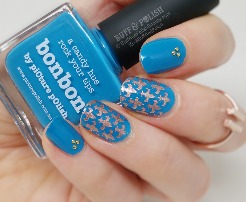 Penny Royal Blues Picture Polish Bonbon Amp Vinyls Buff