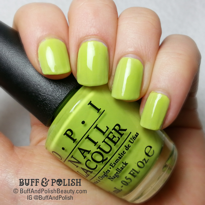 Buff & Polish - Femme Fatale Scoops Ahoy HHC, OCT 2018 polish swatch