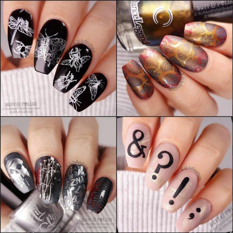 31DC2018-Wrap-Up - Buff & Pollish nail art