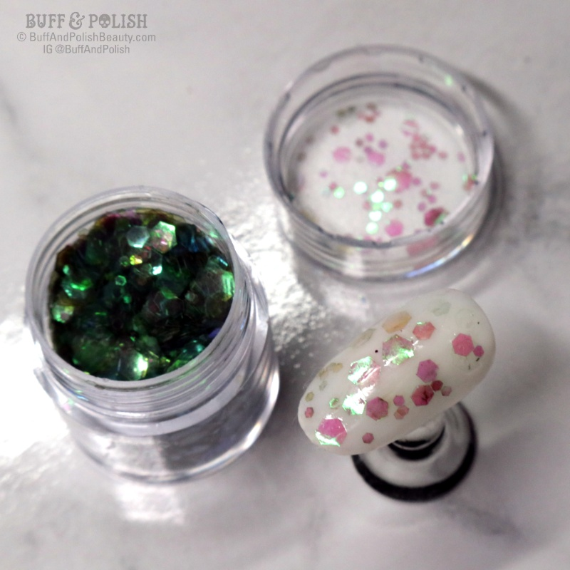 Buff & Polish - Born Pretty Nicole Diary 8pc Glitter Set