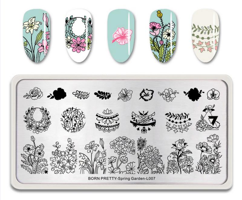 Born Pretty Spring Garden L007