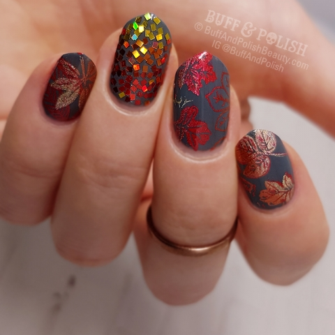 Buff & Polish - 31DC2017 Autumn Glitter
