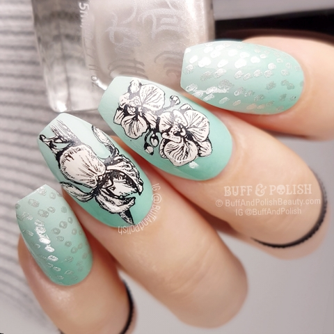 Buff & Polish - 31DC2018 Day 04 Green - Mint Botanicals