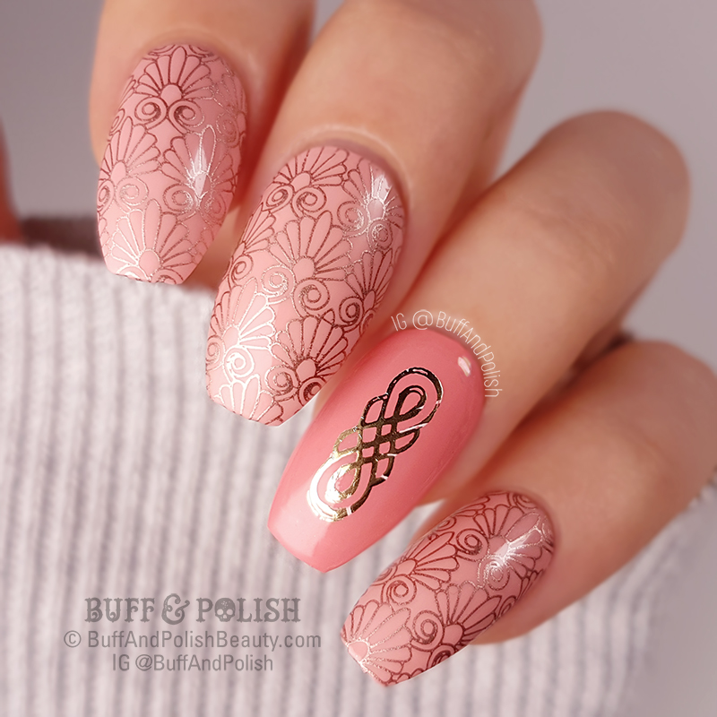 Buff & Polish - 31DC2018 Day 15 - Delicate Print Deco
