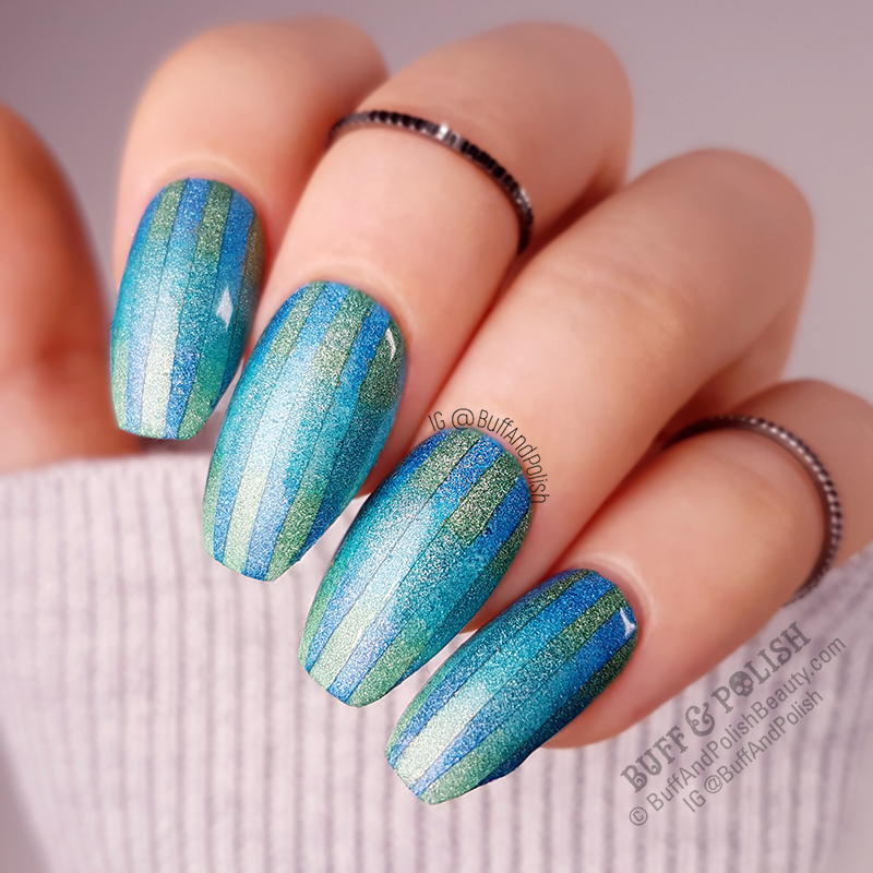 Buff & Polish - 31DC2018 Day 16 Geometric Gradient
