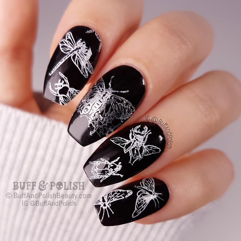 Buff & Polish - 31DC2018 Day 21 - Colour Black Moths
