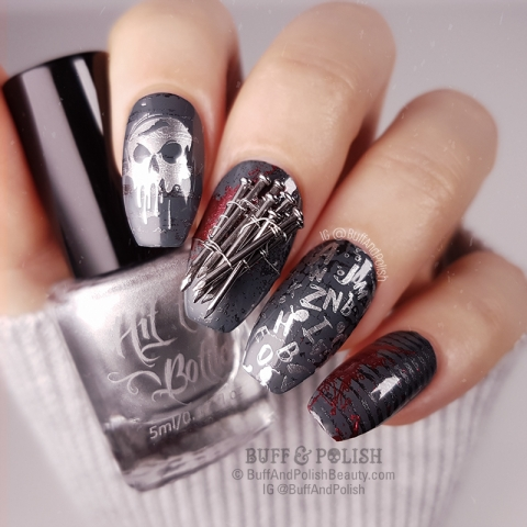 Buff & Polish - 31DC2018 Day 23 Movie - NAILS Horror Film Look