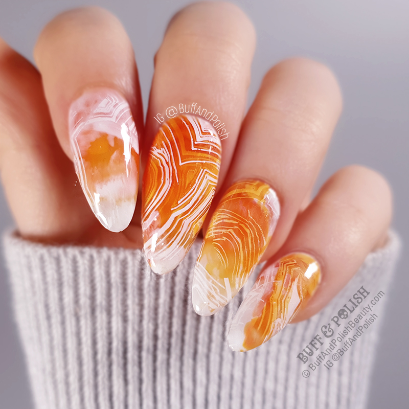 Buff & Polish - 31DC2019 Orange Agate