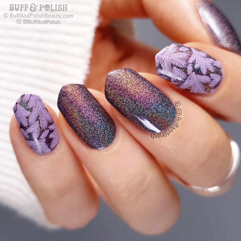 Buff & Polish - A-England Mrs De Winter Wintery Nails, darker
