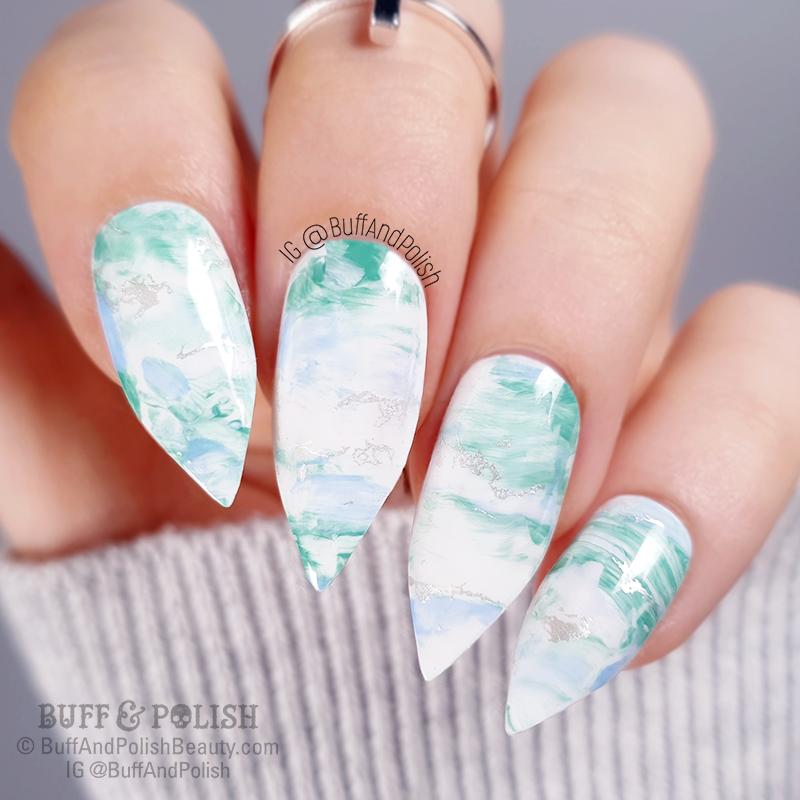 Buff & Polish - UR Sugar Platinum Gel Gold Nail Art (Born Pretty)