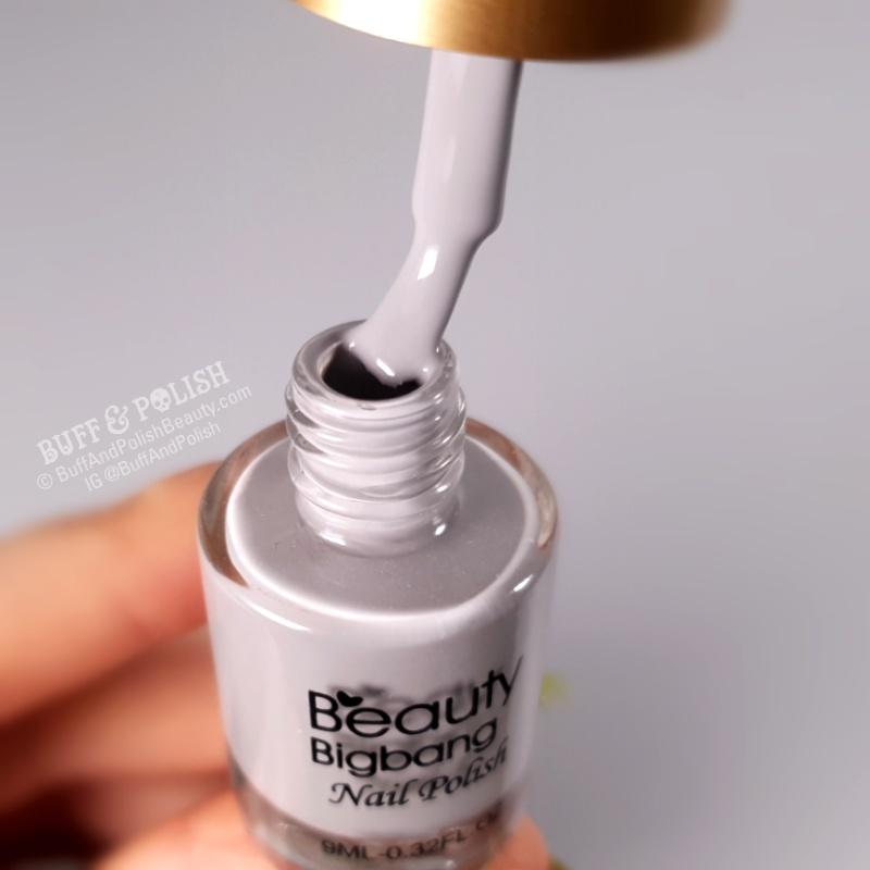 Buff & Polish - BBB Stamping Starter Set 3 - grey stamping polish