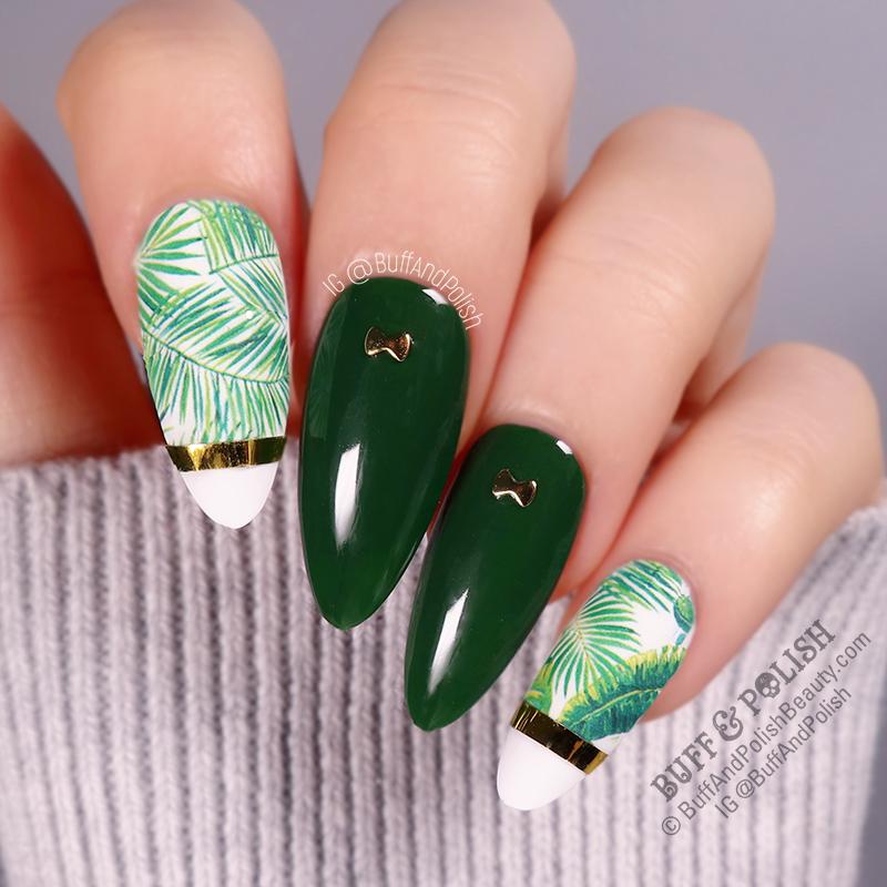 Buff & Polish - BPS Gel WizBuff & Polish - Born Pretty Gel Wizard of Oz, Tropical Leaves ARTard of Oz, Tropical Leaves ART