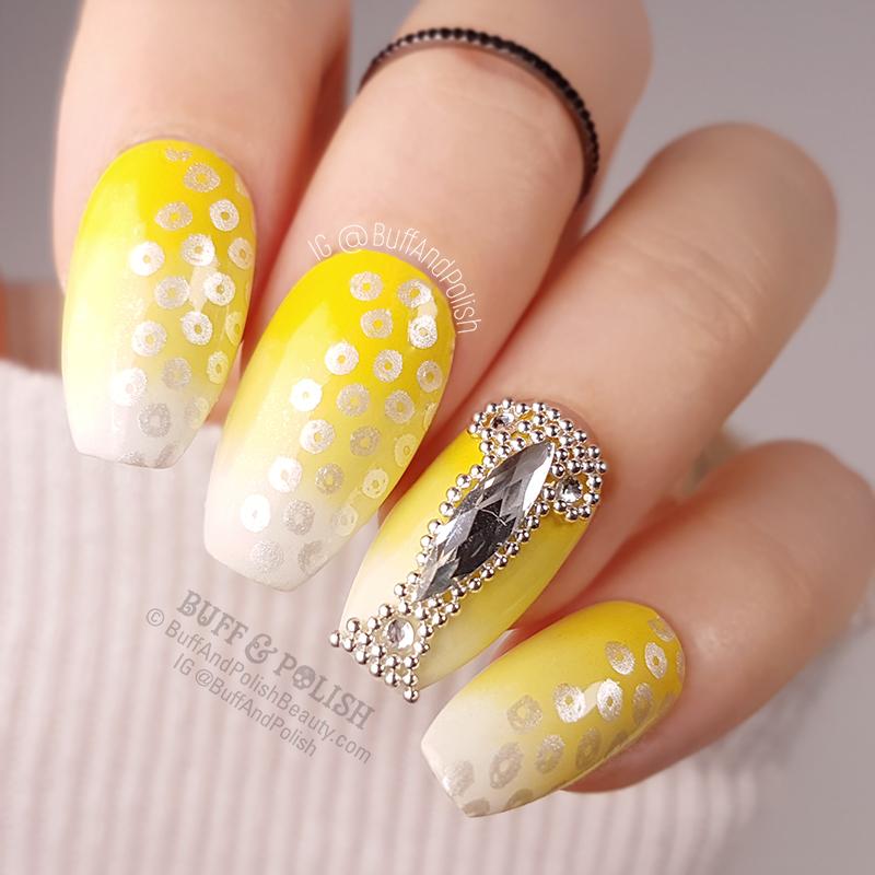 Buff & Polish - Day 03 Yellow - Lemon Blinged Gradient