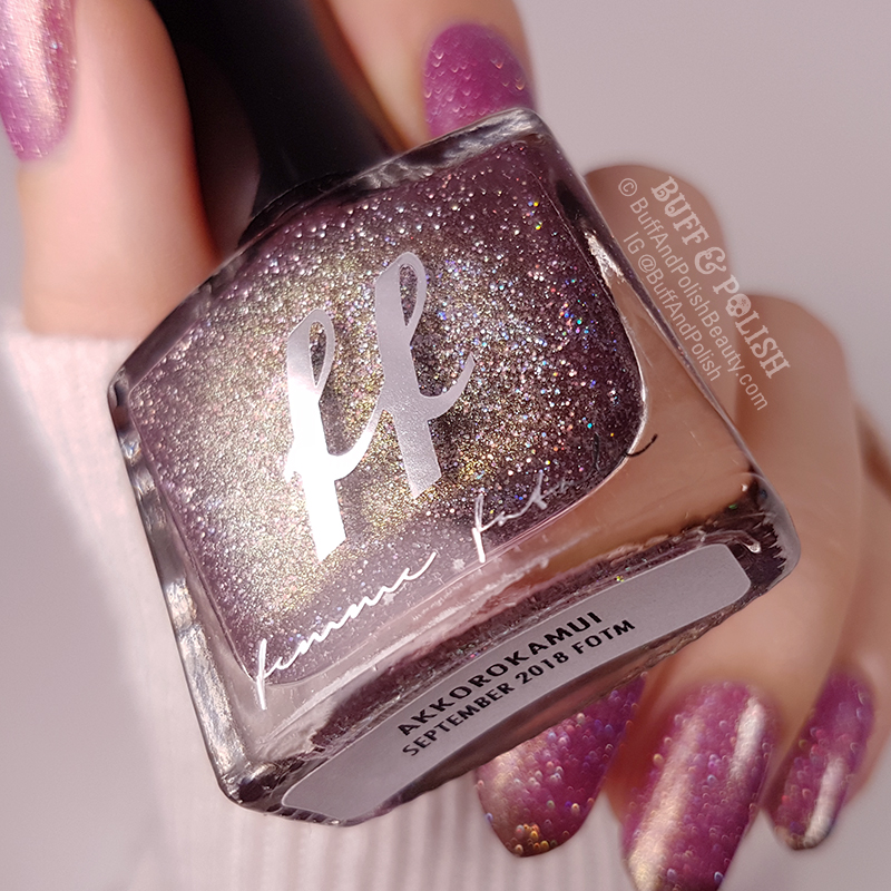 Akkorokamui - Femme Fatale COTM 2018 – Polish Swatches Close-Up