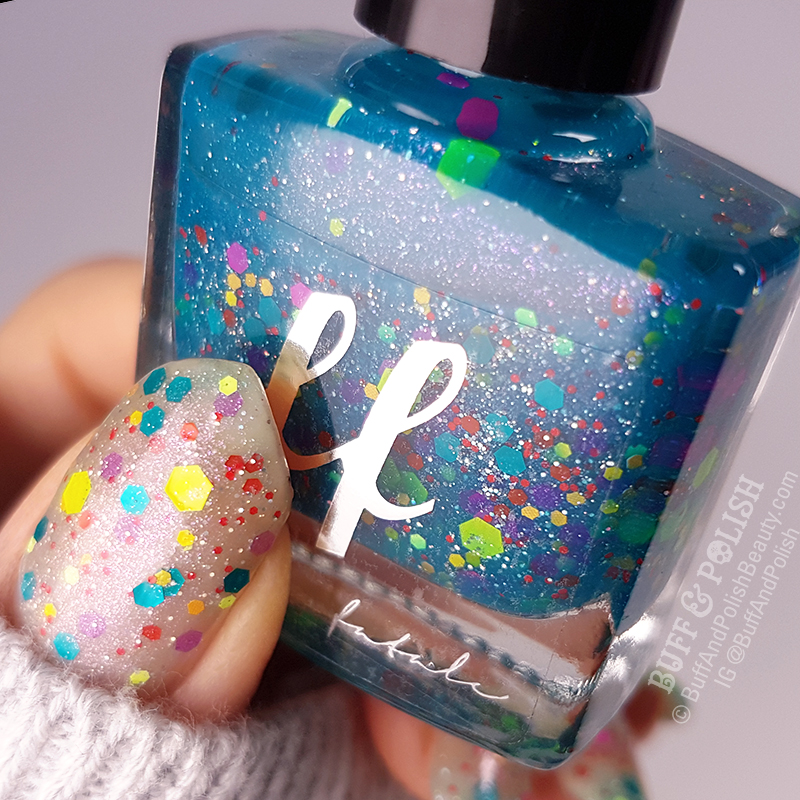 Buff & Polish - Psychokinetic – Femme Fatale HHC, Nov 2018 – Polish Swatches