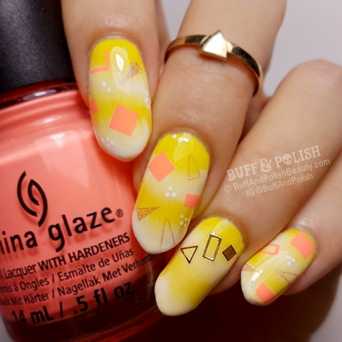 Buff & Polish - Abstract Geometric for Glam Nails