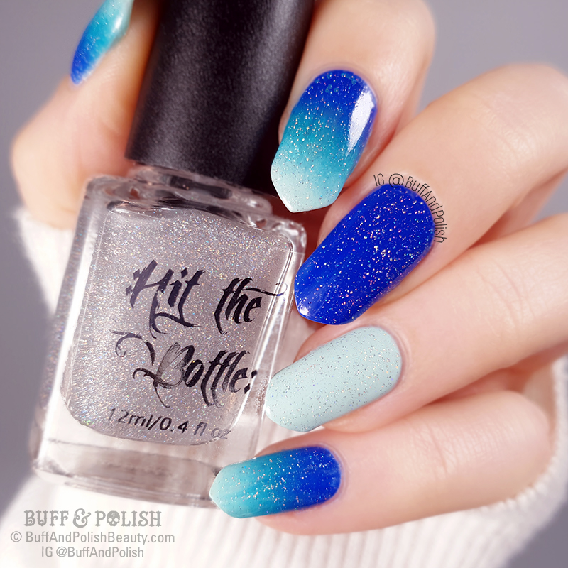 Buff & Polish - Hit The Bottle PPU Lightshow Holo Top Coat, August 2019