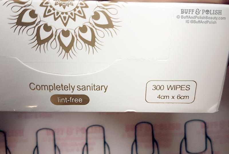 Buff & Polish - Born Pretty Lint-free Wipes Review