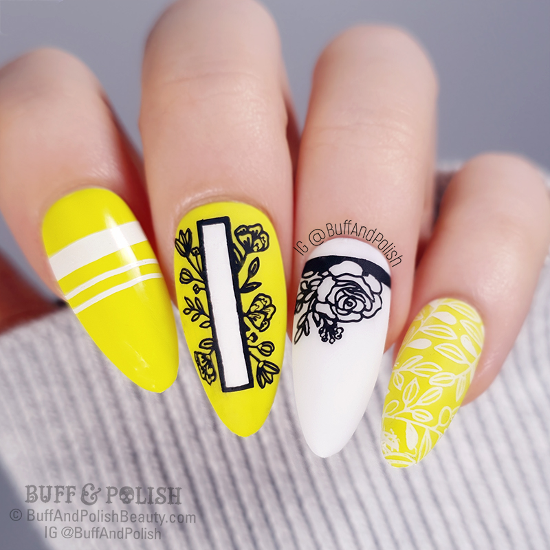 Buff & Polish - MadamGlam Perfect Yellow Florals
