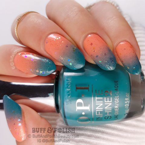 Buff & Polish - UR Sugar Platinum Gel Gold Nail Art (Born Pretty)