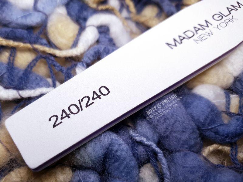Buff & Polish - Madam Glam 240 Grit Diamond Nail Files