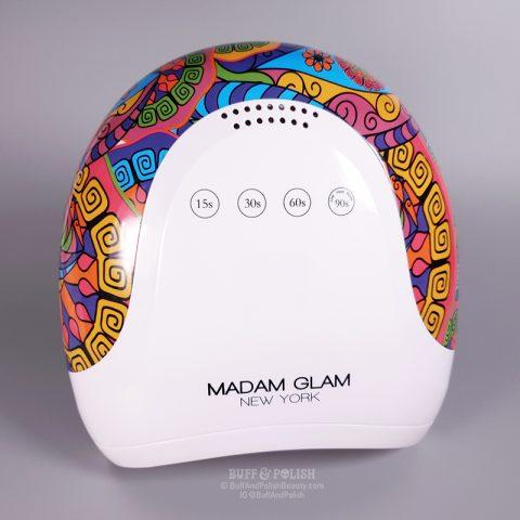 Buff & Polish Review - Madam Glam's 48w Holi UV LED Nail Lamp - Overview