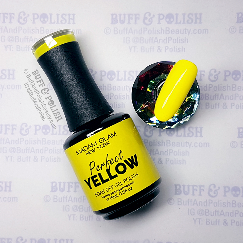 Buff-&-Polish - Madam Glam Perfect Yellow