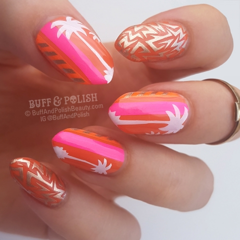 Buff & Polish - Mango Splice Neon Palms