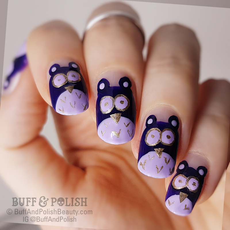 Buff & Polish - Mani-Swap-Circle Dark Purple