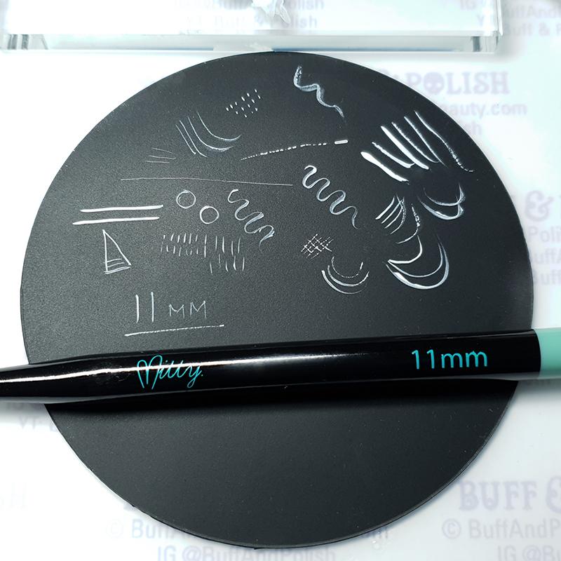 Buff & Polish - Mitty 11mm Brush