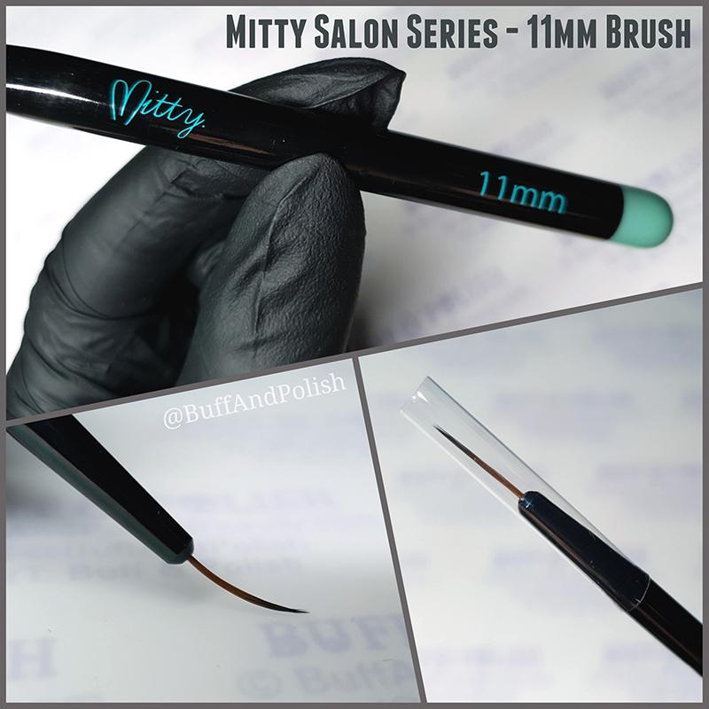Buff & Polish - Mitty 11mm Salon Series Brush