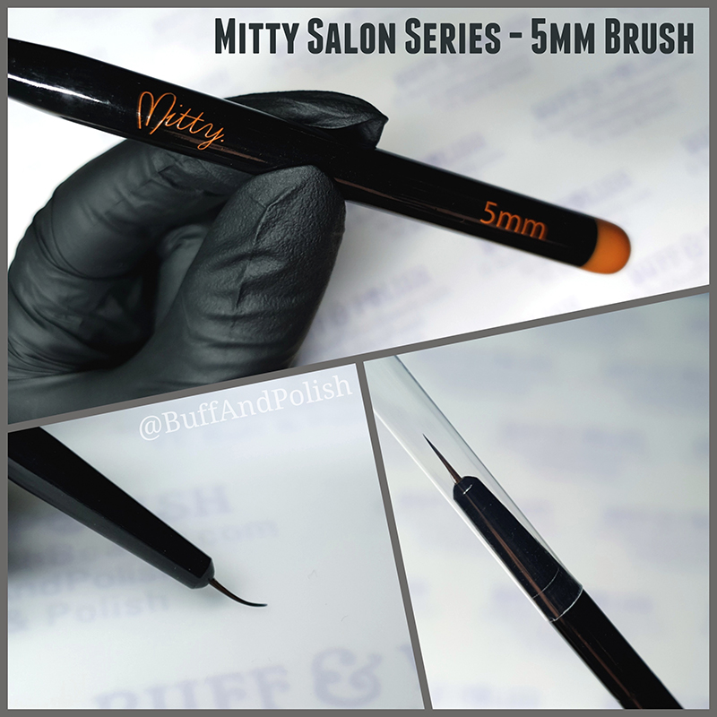 Buff & Polish - Mitty 5mm Salon Series Brush