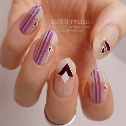 Buff & Polish - Minimal Mani with Negative Space – MoYou London Contest #2