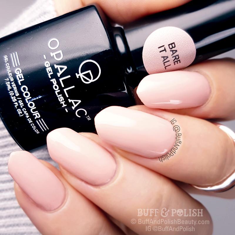 Buff & Polish - Opallac Bare It All Gel Polish Swatch GLOSS
