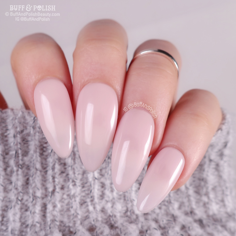 Buff & Polish - Opallac Dear Sheer Gel Polish Swatch