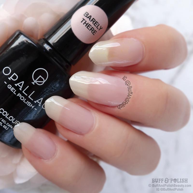 Buff & Polish - Opallac Barely There - Sheer Version (medium length nails)
