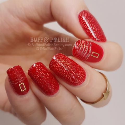 Buff & Polish - Red-Light-&-Gold