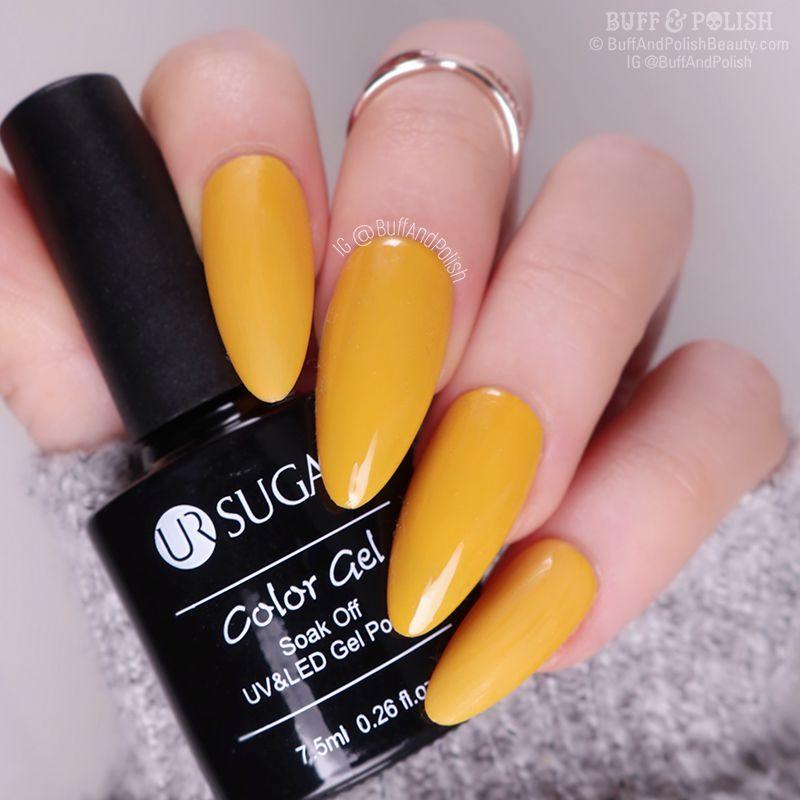 Buff & Polish - Nicole Diary Autumn Gel 6pc Set, Mustard