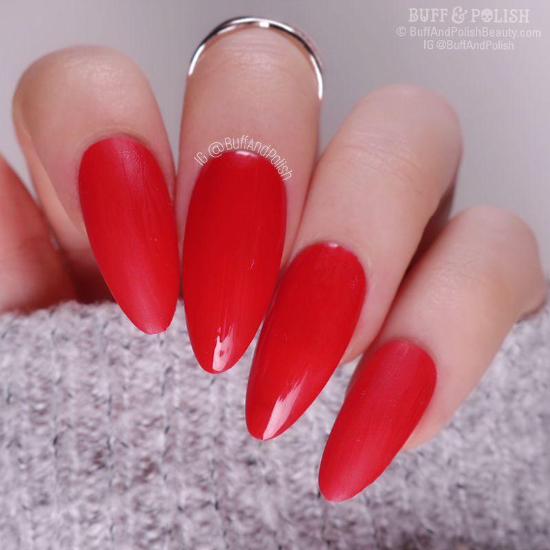 Buff & Polish - Nicole Diary Autumn Gel 6pc Set, Red