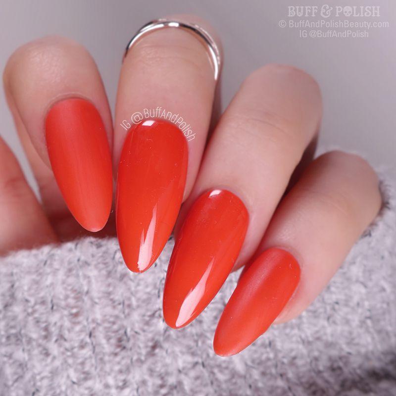 Buff & Polish - Nicole Diary Autumn Gel, Vermillion